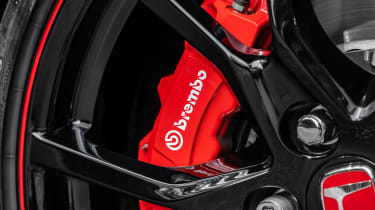 Honda Civic Type R brakes