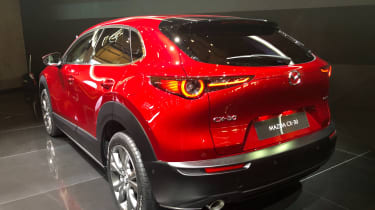 Mazda CX-30 SUV - Geneva - rear view