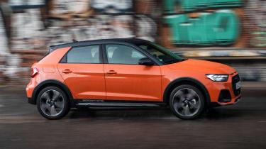 Audi A1 Citycarver hatchback side panning