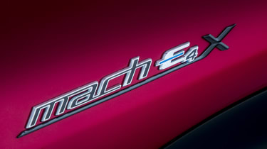 Ford Mustang Mach-E badge