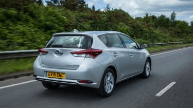 Like other Toyotas, the Auris has an impressively long five-year/100,000-mile warranty