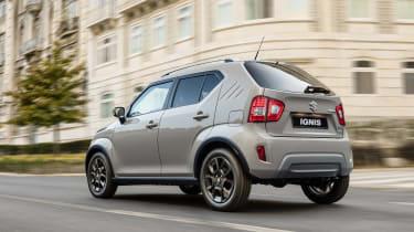 2020 Suzuki Ignis SUV rear 3/4 tracking