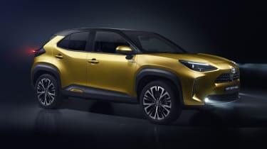 Toyota Yaris Cross SUV - front 3/4 static