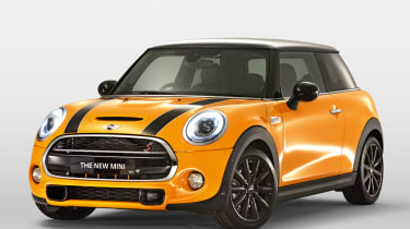 MINI hatchback 2014 front quarter static