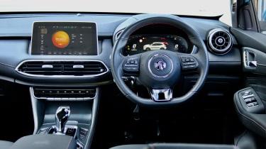 2020 MG HS plug-in hybrid interior