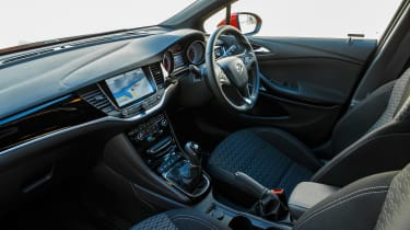 The Astra Sports Tourer's interior puts rivals' to shame