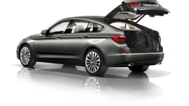 BMW 5 Series 2013 GT boot open
