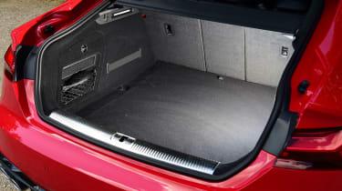 Audi S5 Sportback boot