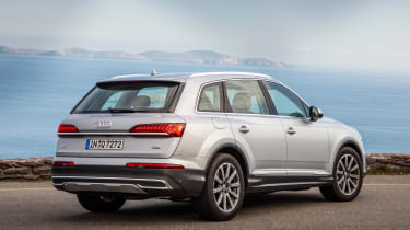 Audi Q7 SUV rear 3/4 static