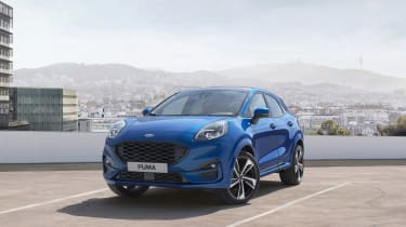 2020 Ford Puma - front 3/4 static
