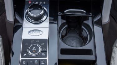 The rotary gear selector works well, though a conventional gearlever is easier to use during three-point turns