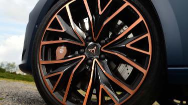 Cupra Leon hatchback alloy wheels