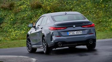 BMW 2 Series Gran Coupe saloon rear cornering