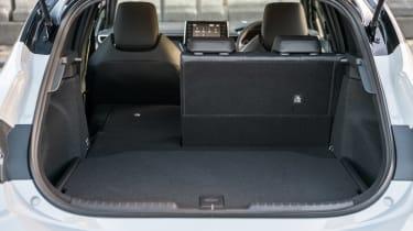 Toyota Corolla hatchback boot