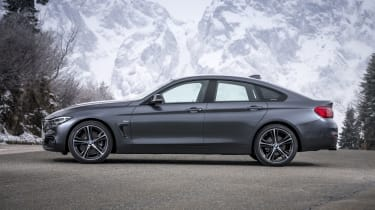 BMW 4 Series Gran Coupe side static