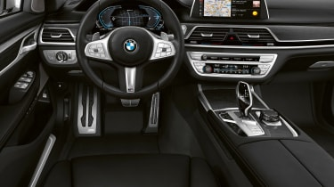 BMW 745e hybrid saloon dashboard