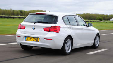 The BMW 1 Series is a premium family hatchback with rear or four-wheel-drive