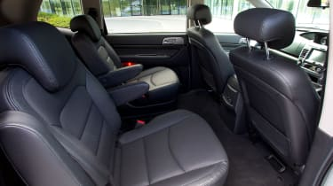 2018 SsangYong Turismo rear seats