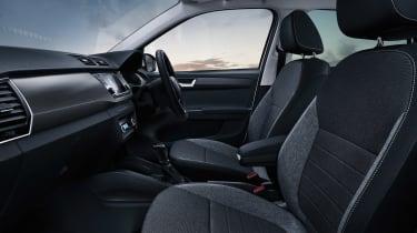 Skoda Fabia SE Drive interior - side view