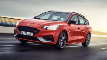 2019 Ford Focus ST estate - front driving