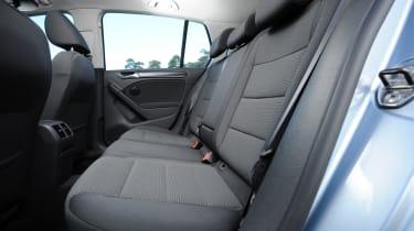 Volkswagen Golf - rear seats