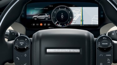 Land Rover Discovery Sport SUV digital instruments