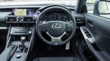 Lexus 300 H F Sport interior