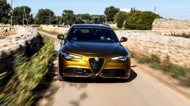 Alfa Romeo Giulia saloon front action