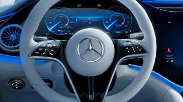 2021 Mercedes EQS steering wheel