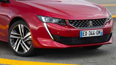 Peugeot 508 – front
