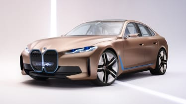 2021 BMW Concept i4 - front 3/4 view