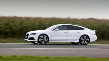 But it's in a straight line where it really excels, getting from 0-62mph in 3.9 or 3.7 seconds