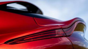 Aston Martin DBX SUV tail