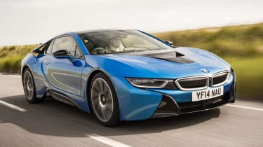 The motor in the i8 hybrid supercar has over a mile of copper wire