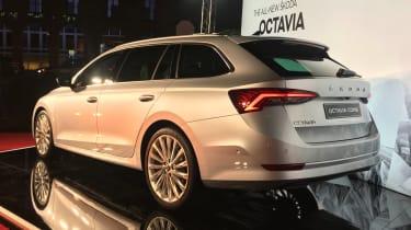 2020 Skoda Octavia estate - rear view