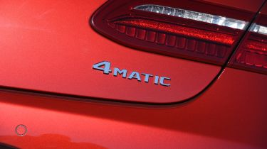 While the E-Class Coupe is rear-wheel-drive as standard, 4MATIC four-wheel-drive is also be available