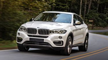BMW X6 - dynamic 3/4 view
