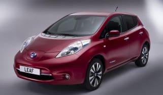 Nissan Leaf 2013 front quarter