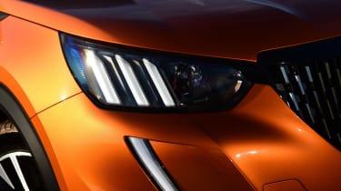 Peugeot 2008 SUV headlights