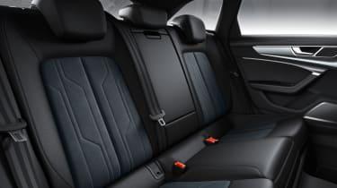 New 2019 Audi A6 Allroad estate- interior rear seats