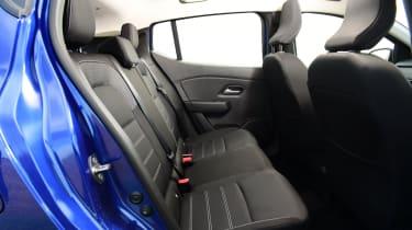 2021 Dacia Sandero hatchback - rear seats