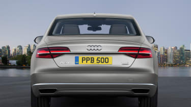 Audi A8 2014 rear static