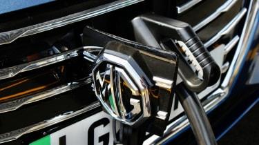 MG 5 EV long-range - charge point