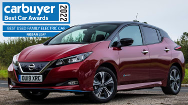Best Used Family Electric Car: Nissan Leaf