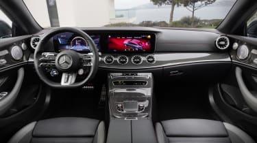 Mercedes-AMG E 53 Coupe interior