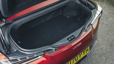 Lexus LC Convertible boot