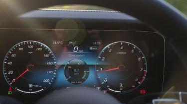 Mercedes-AMG E 63 estate dials