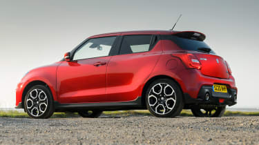 Suzuki Swift Sport mild-hybrid side view
