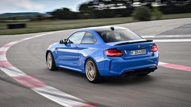 BMW M2 CS cornering - rear