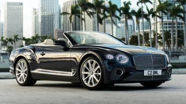 Bentley Continental GT V8 convertible front quarter
